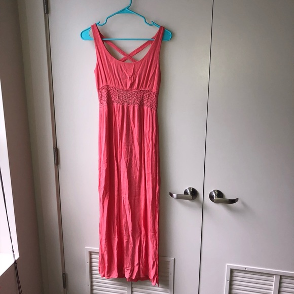 Xhilaration Dresses & Skirts - Coral Pink Maxi Dress